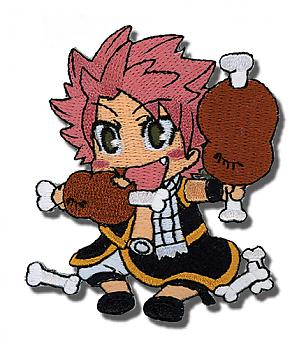 Fairy Tail Patch - Natsu Eating