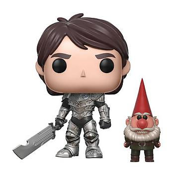 Troll Hunters POP! Vinyl Figure - Jim (Armor) & Gnome