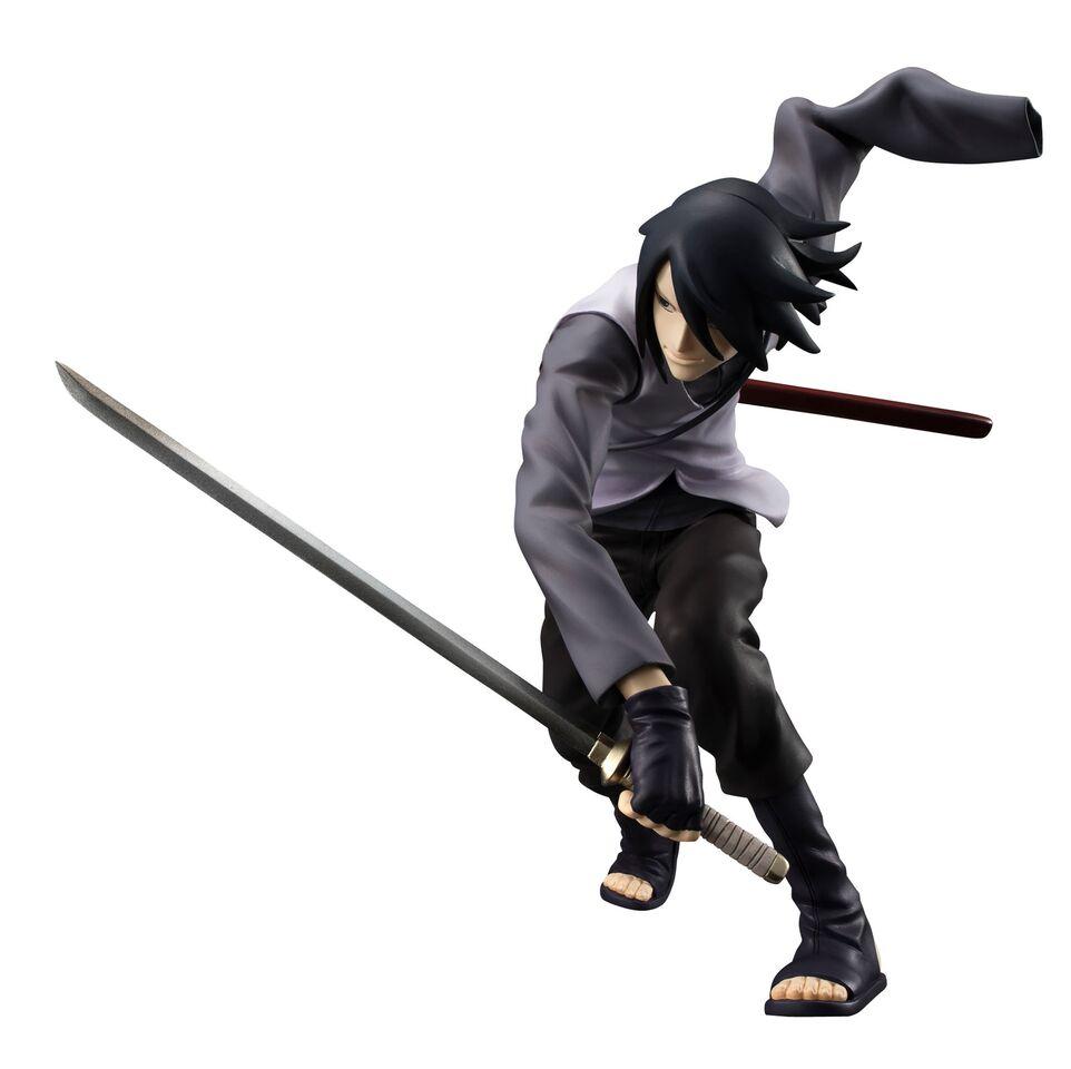 naruto shippuden 1 8 scale figure sasuke uchiha g e m series