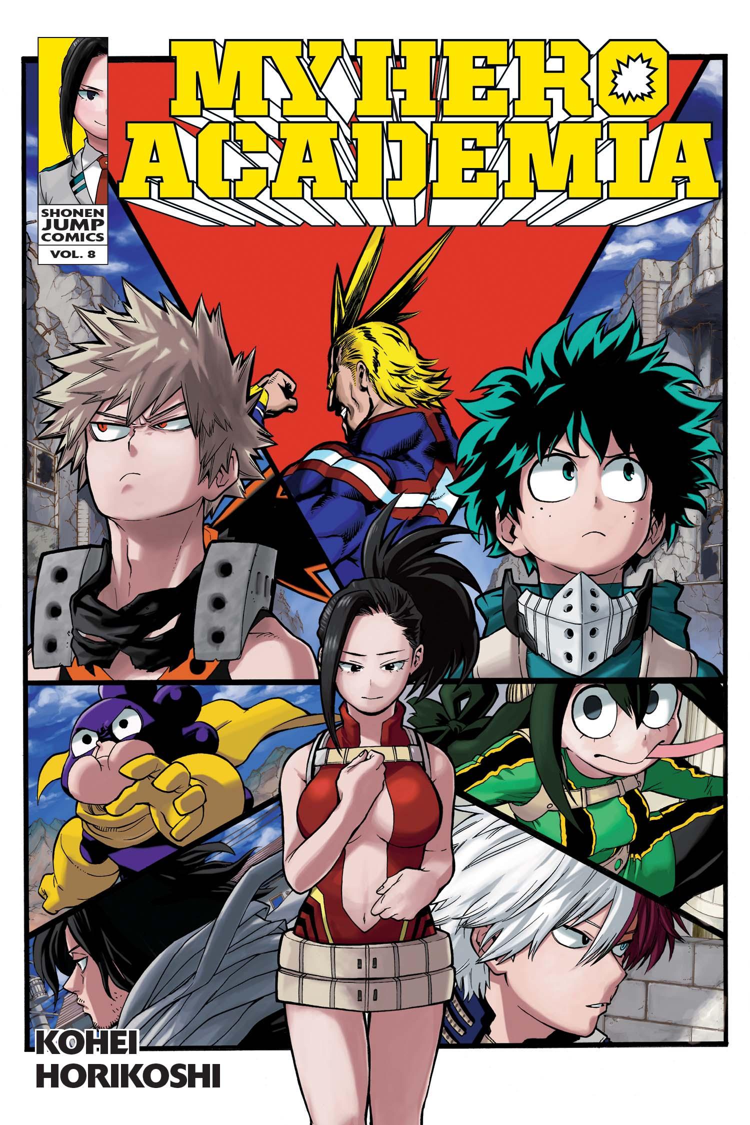 My Hero Academia Manga Vol. 8 @Archonia_US