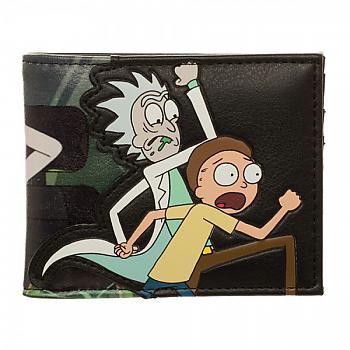 Rick & Morty Bifold Wallet - PU
