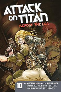 Attack on Titan: Before the Fall Manga Vol.  10