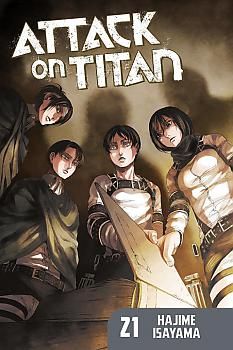 Attack on Titan Manga Vol.  21