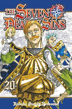 Seven Deadly Sins Manga Vol.  20