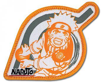 Naruto Patch - Naruto Orange Leaf Logo
