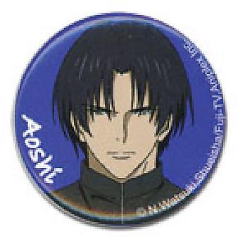 Kenshin 1.25'' Button - Aoshi