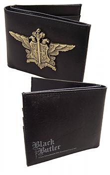 Black Butler Wallet - Phantomhive Emblem