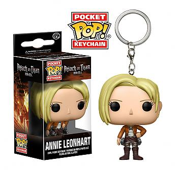 Attack on Titan Pocket POP! Key Chain - Annie Leonhart