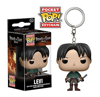 Attack on Titan Pocket POP! Key Chain - Levi