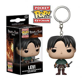 Attack on Titan Pocket POP! Key Chain - Levi