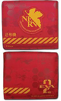 Evangelion Wallet - Eva Unit 02 Nerv
