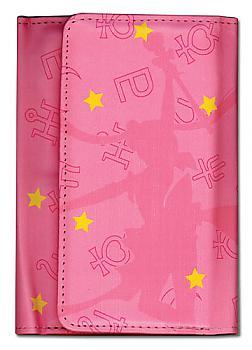 Sailor Moon Wallet - Sailor Moon Silhouette Pink