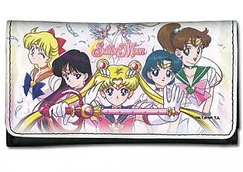 Sailor Moon Wallet - Sailor Scouts Line Up