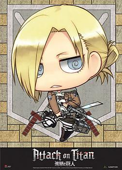 Attack on Titan Wall Scroll - SD Annie