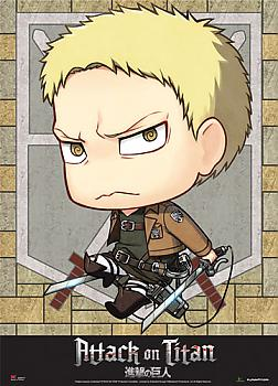 Attack on Titan Wall Scroll - SD Reiner