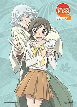 Kamisama Kiss Wall Scroll - Nanmi & Mizuki Peace