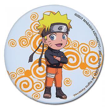 Naruto Shippuden Button - Chibi Naruto Pose