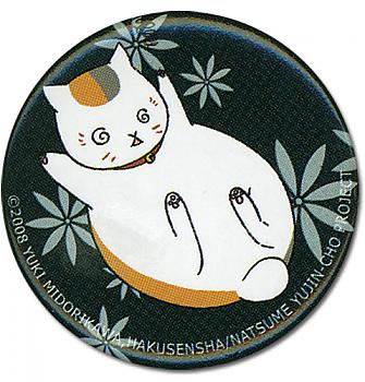 Natsume's Book Of Friends Button - Nyanko Dizzy