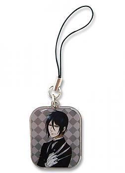 Black Butler 2 Phone Charm - Sebastian Portrait