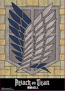 Attack on Titan Wall Scroll - Survey Corp Crest