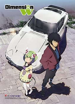 Dimension W Wall Scroll - Kyoma & Mira Car