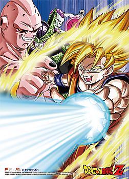 Dragon Ball Z Wall Scroll - Goku & Arch-Enemies