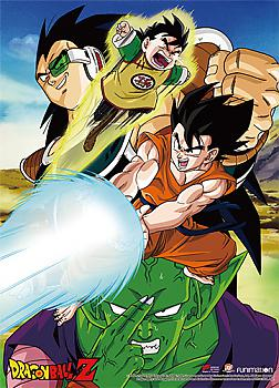 Dragon Ball Z Wall Scroll - Raditz Arrival