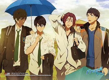 Free! 2 Wall Scroll - Rain [LONG]