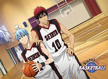 Kuroko's Basketball Wall Scroll - Ball Court
