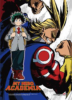 My Hero Academia Wall Scroll - Deku & All Might