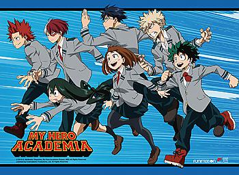 My Hero Academia Wall Scroll - Hero Class Rush [LONG]
