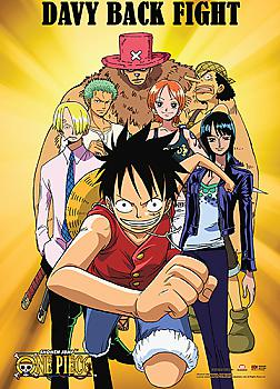 One Piece Wall Scroll - Davy Back Fight