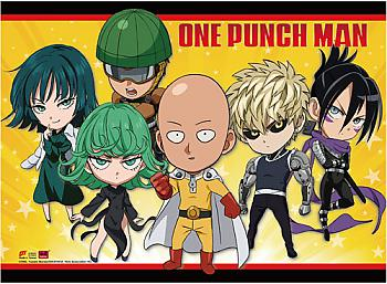 One-Punch Man Wall Scroll - SD Heroes [LONG]