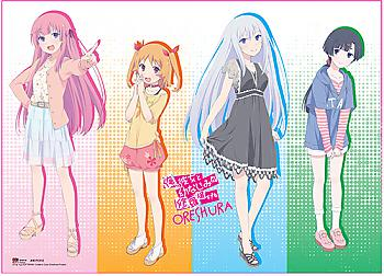 Oreshura Wall Scroll - Girls Pastel [LONG]