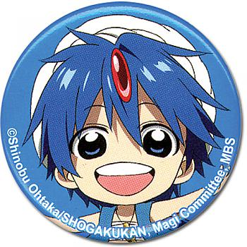 Magi The Labyrinth of Magic 1.25'' Button - Aladdin