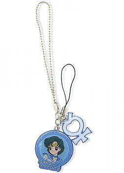 Sailor Moon Phone Charm - Sailor Mercury and Planetary Symbol