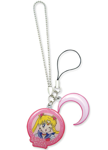 Sailor Moon Phone Charm Sailor Moon And Crescent Moon Symbol
