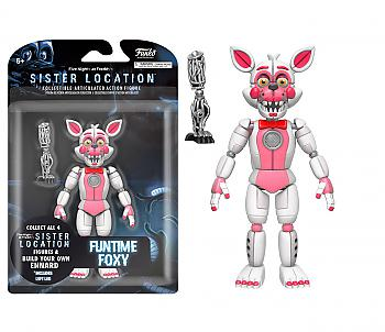 Five Nights At Freddy's Action Figure - Funtime Fox (Build A Figure)