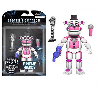Five Nights At Freddy's Action Figure - Funtime Freddy (Build A Figure)