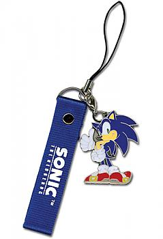 Sonic The Hedgehog Phone Charm - Sonic and Strap