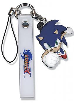 Sonic X Phone Charm - Sonic Running