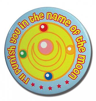 Sailor Moon Button - Punish in the Name of the Moon