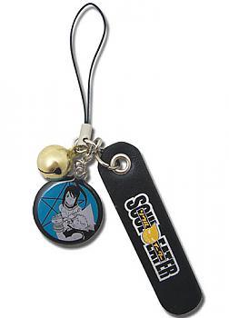 Soul Eater Phone Charm - Black Star and Tsubaki
