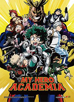 My Hero Academia High End Wall Scroll - Key Art