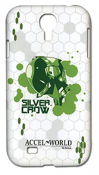 Accel World Samsung S4 Case - Silver Crow