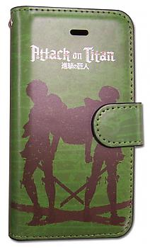Attack on Titan iPhone 5 Case - Eren & Levi