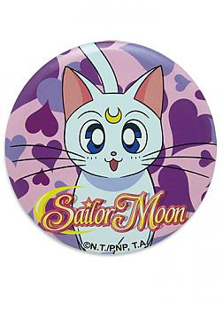 Sailor Moon 3'' Button - Artemis Face