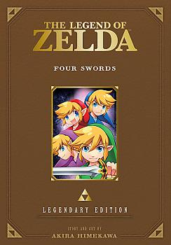 Zelda Legendary Edition Manga Vol.  5  (Four Swords)