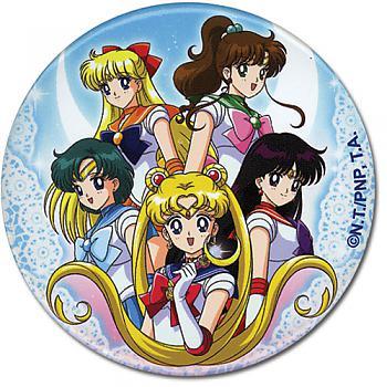 Sailor Moon 3'' Button - Group