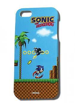 Sonic iPhone 5 Case - Pixel Sonic Classic Green Hill
